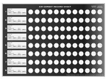 Aeronautica Imperialis - Combat Reference Sheet