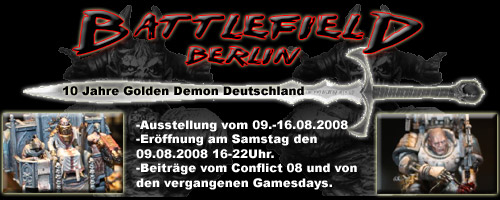 Battlefield Berlin - 10 Jahre Golden Demon