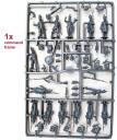 Perry Miniatures - Napoleonische Infanterie Kommando Gußrahmen