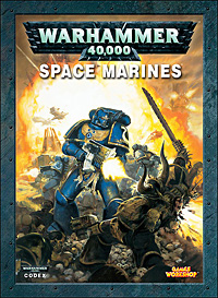 Space Marine Codex Cover