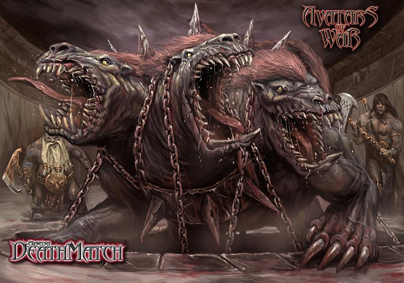 Avatars of War Netherhound