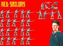 Copplestone Castings - Red Sailors