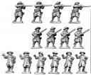 Copplestone Castings - Universaltruppen / Musketiere