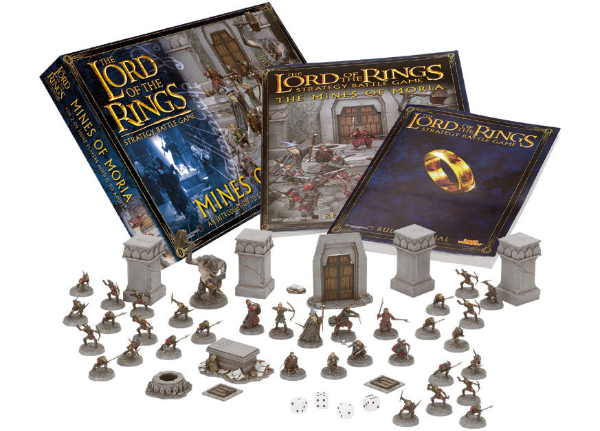 Lord Of The Rings Strategy Battle Game Mines Of Moria