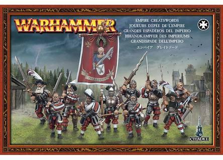 Warhammer Fantasy - Imperium Bihandkämpfer