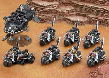 Warhammer 40.000 - Dark Angel Ravenwing Streitmachtbox