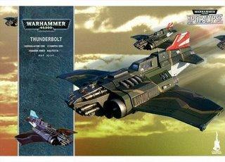 Warhammer 40.000 - Imperiale Armee Thunderbolt FAKE