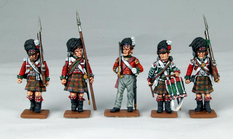 Die Highland-Saga Figuren