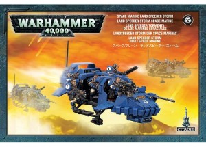 Warhammer 40.000 - Space Marine Land Speeder Storm