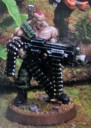 Warhammer 40.000 - Imperiale Armee Gunnery Sergeant Harker