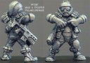 Hasslefree - LI Grymn trooper preparing grenade