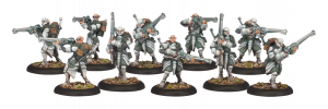 Warmachine - Houseguard Riflemen