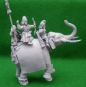 Aventine Miniatures - Sassanid King on Elephant
