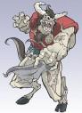 RollJordan - Zombie Beastman