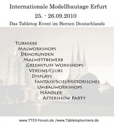 Internationale Modellbautage Erfurt