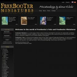 Freebooter Miniatures - Homepage