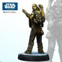 Knight Models - Chewbacca mit C3PO