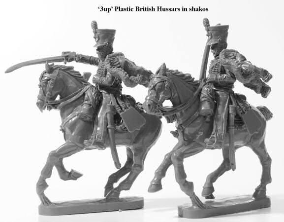 Perry Miniatures Britische Plastik Husaren Bruckenkopf