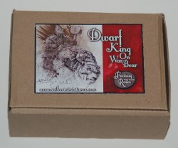 Zwergenkönig auf Bär Box