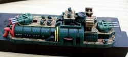 Dystopian Blazing Sun Battleship