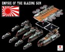 Dystopian Wars - Empire of the Blazing Sun Battle group