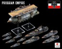 Dystopian Wars - Prussian Empire Battle group