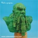 dwarf bust green 01