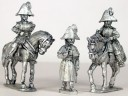 Victrix - Russian mounted colonels 1805-1808 (x2) & foot officer