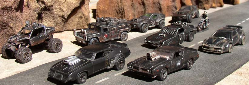 Cars Used In Movie War Machine