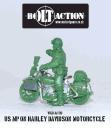 Bolt Action - US MP on Harley Davidson