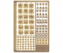 Forge World - Ork Glyphs Etched Brass