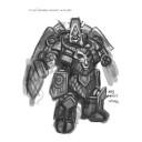 Mantic Games - Khaos Dwarf Bionic Wizard