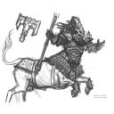Mantic Games - Khaos Dwarf Centaur