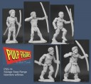 Pulp Figures - Islanders with Bows