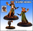 Rusted Heroes - Rhinah of the Wild
