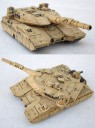 Khurasan - 15mm Federal Army M5A3EPS Siler Heavy Tank