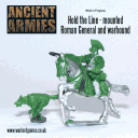 Warlod Games - Roman General and warhound
