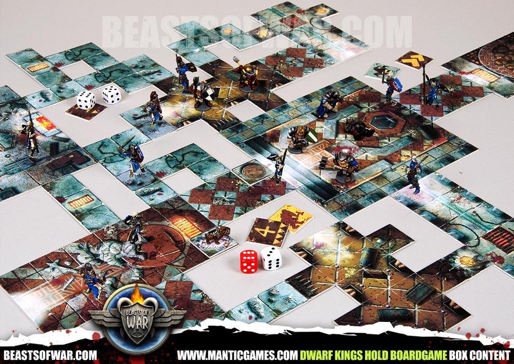 dungeon crawler brettspiel