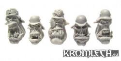 Ork Veteran Heads