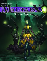 Malifaux Rising Powers Cover