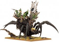 Arachnarok schwarz Spinnenschrein