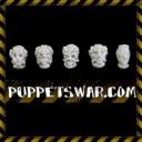 Puppetswar Künstliche Helme