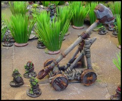 Ramshackle catapult