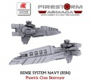 Firestorm Armada RSN destroyer escort 1