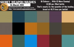Washes Preview Farbpalette