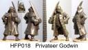 Hasslefree Miniatures - Privateer Godwin