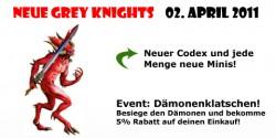 Spielbetrieb Heidelberg - Grey Knight Poster