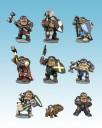 Dwarf King's Hold Zwerge bemalt