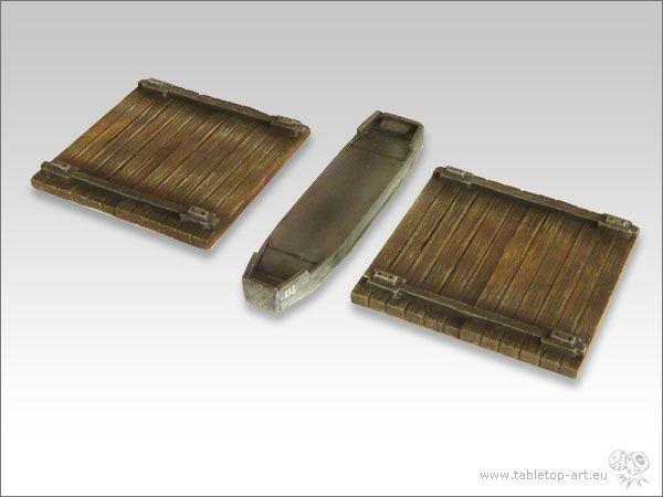 *Tabletop Art* Pontonbrücke 15mm