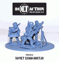Bolt Action - Soviet 120mm Mortar Team